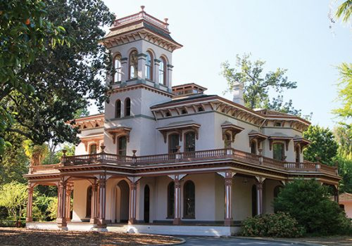 Bidwell Mansion State Historic Park in Chico, CA suggested by growTech Fest 2019
